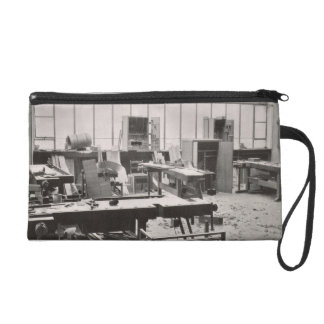 The Carpenter's Workshop, from the Workshops of th Wristlet Clutch