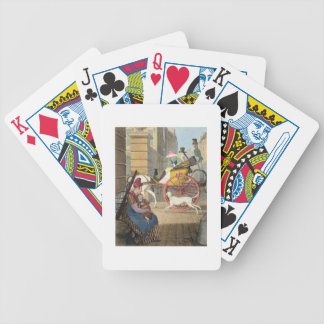 The carriage entrance, from 'Twenty-four Subjects, Bicycle Playing Cards