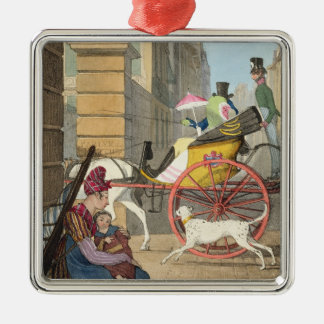 The carriage entrance, from 'Twenty-four Subjects, Christmas Ornament