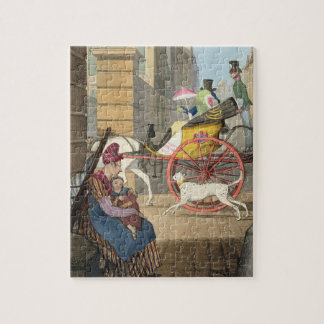 The carriage entrance, from 'Twenty-four Subjects, Jigsaw Puzzle