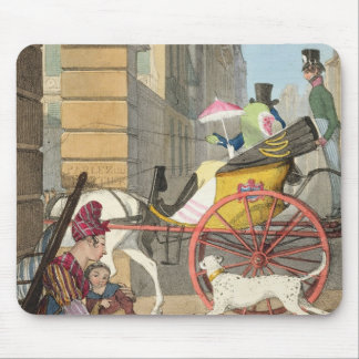 The carriage entrance, from 'Twenty-four Subjects, Mouse Mat