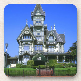 The Carson Mansion in Eureka, California Beverage Coasters