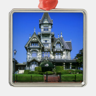 The Carson Mansion in Eureka, California Christmas Ornament