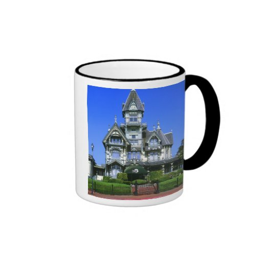 The Carson Mansion in Eureka, California Coffee Mugs
