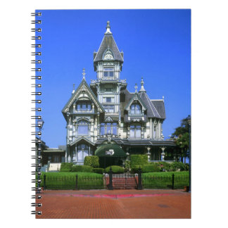 The Carson Mansion in Eureka, California Note Books