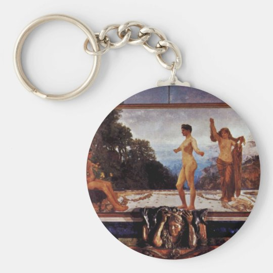 The Case Of Paris,  By Klinger, Max (Best Quality) Basic Round Button Key Ring