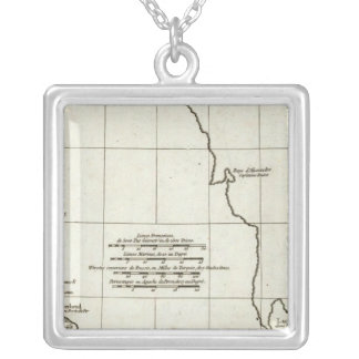 The Caspian See Silver Plated Necklace
