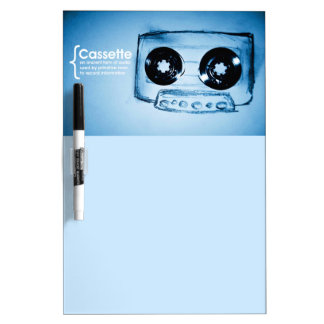 The Cassette Tape Dry Erase Board