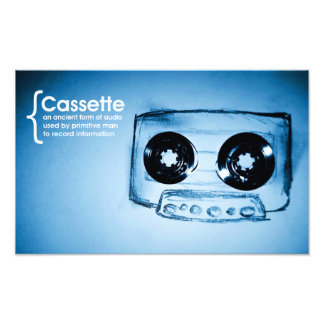 The Cassette Tape Photo Print