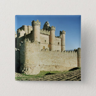 The castle 15 cm square badge