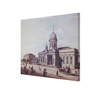 The Castle and Cathedral Church, Berlin Canvas Print