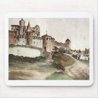 The Castle at Trento by Albrecht Durer Mouse Mat