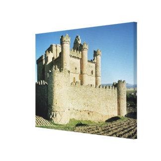 The castle canvas prints