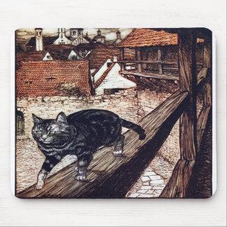 The Castle Cat by Rackham Mouse Pad