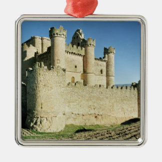 The castle christmas ornament