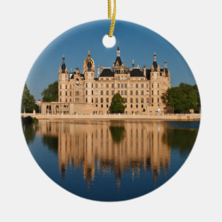 The castle in Schwerin in Germany Christmas Ornament
