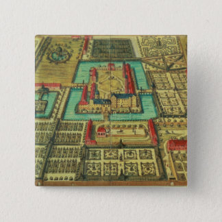 The Castle of the Prince of Kothen 15 Cm Square Badge