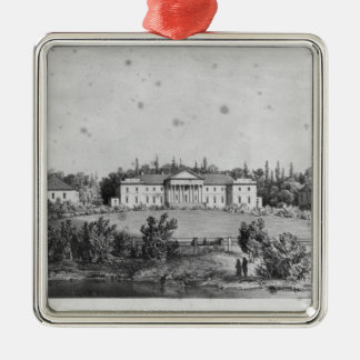 The Castle of Wierzchownia Christmas Ornament