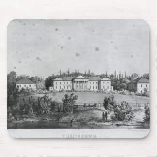 The Castle of Wierzchownia Mouse Mat