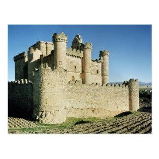 The castle postcard