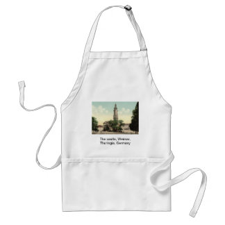 The castle, Weimar, Thuringia, Germany Adult Apron