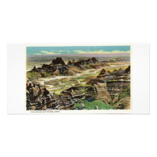 The Castles, Badlands, South Dakota Photo Greeting Card