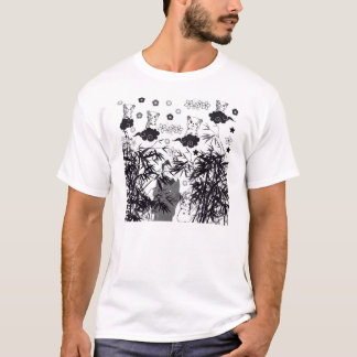 The cat and the cherry tree it is distant the T-Shirt
