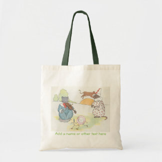 The Cat and the Fiddle Budget Tote Bag