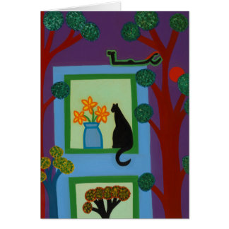 The Cat From Askew Crescent 2008 Card