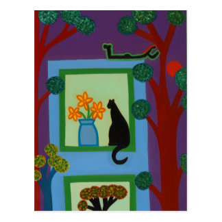 The Cat From Askew Crescent 2008 Postcard