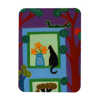 The Cat From Askew Crescent 2008 Rectangular Photo Magnet