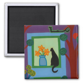 The Cat From Askew Crescent 2008 Square Magnet