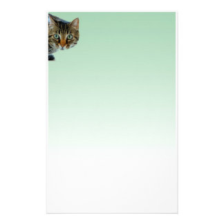 The cat is the boss stationery