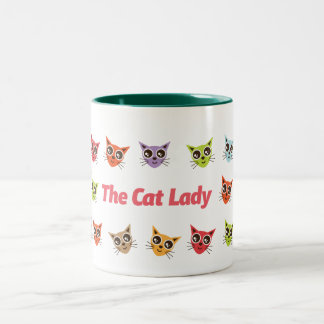 The Cat Lady Mug