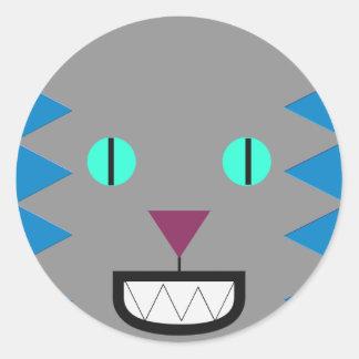 The Cat Round Sticker