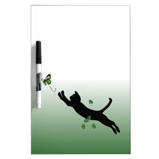 The Cat & The Butterfly Dry Erase Board