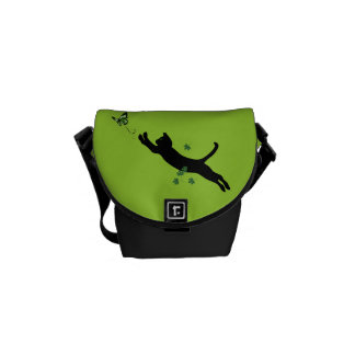 The Cat & The Butterfly Version 2 Commuter Bag