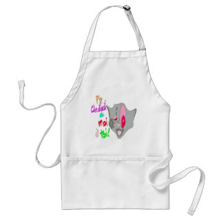 The CAT Wink 1.PNG Aprons