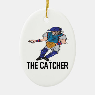The Catcher Christmas Ornament
