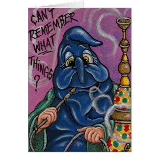 THE CATERPILLAR Alice in Wonderland Note Card