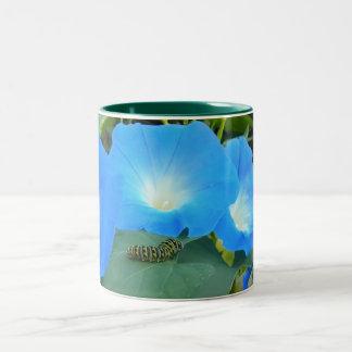 The Caterpillar And The Morning Glories Mug