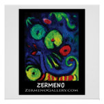 """The Caterpillar"" from ZermenoGallery.com. Print"