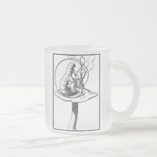 The Caterpillar Frosted Glass Mug