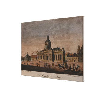 The Cathedral, Berlin Canvas Print