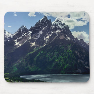 The Cathedral Group In Grand Teton National Mouse Pad