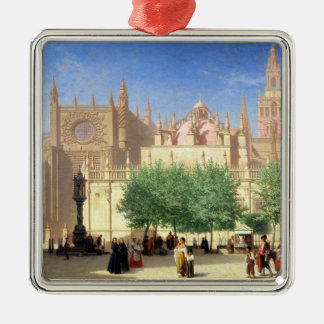 The Cathedral of Seville Christmas Ornament