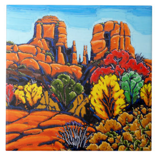 The Cathedral Rock Decorative Tile