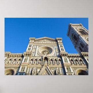 The cathedral Santa Maria del Fiore , Firenze, Poster