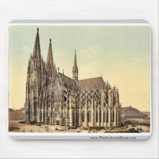 The cathedral, side, Cologne, the Rhine, Germany r Mouse Pad