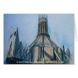The Catholic Cathedral Liverpool Colin Carr-Nall Greeting Card